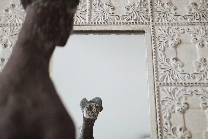途中ウラマドンナと鏡