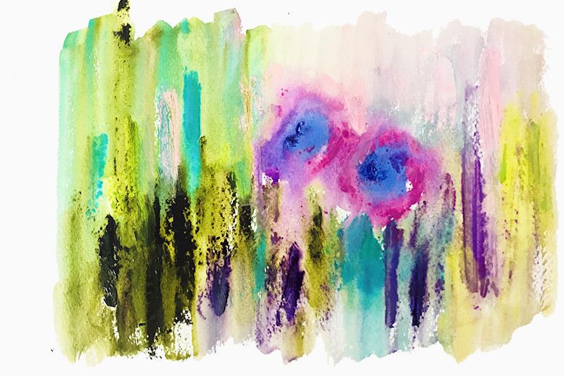 抽象水彩2